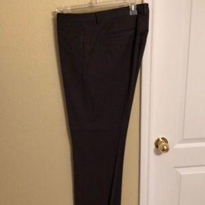 Slim fit men's Calvin Klein dress pants (charcoal)